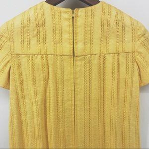 Dresses - VTG Golden Yellow Handmade Girls Maxi Dress